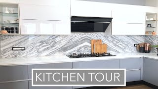 Kitchen Organization Ideas /New Kitchen Tour/Indian organised kitchen tour