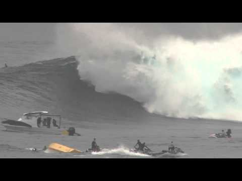 Dege O'Connell Wipeout @ Jaws Peahi Maui