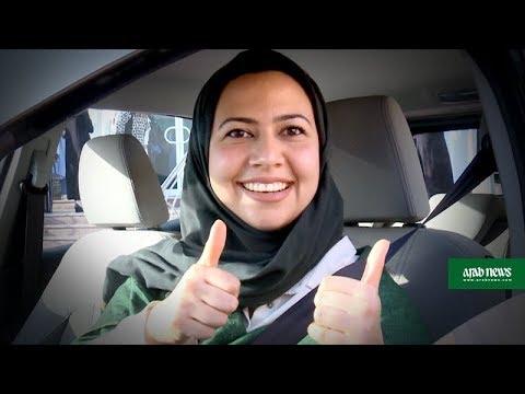 Saudi women take the wheel, test-driving a new freedom