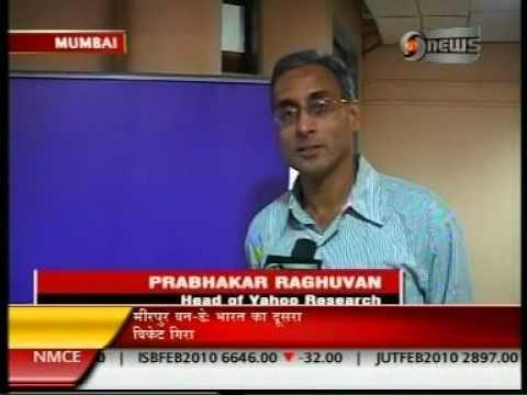 Story about Yahoo! India R&D and IIT Mumbai Partnership on DD NEWS