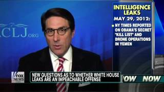 Obama Impeachment Over White House Leaks