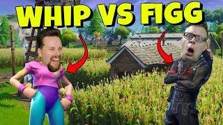 WHIPPIT vs FIGGEHN I FORTNITE *FATAL FIELDS* Playground