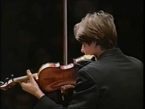 1997 David Garrett plays Mendelssohn[1/3] DAVID GARRETT 16 ♪
