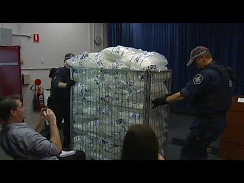 Australian Police Claim Record Drug Bust Of Crystal Meth