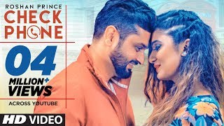 """""""Roshan Prince"""": Check Phone (Official Video Song) TigerStyle 