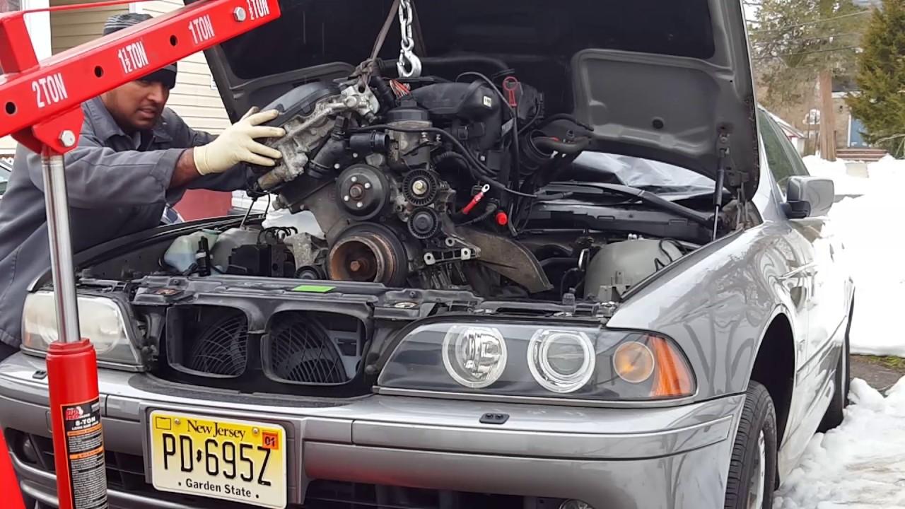 2002 Bmw 525i Engine Installation
