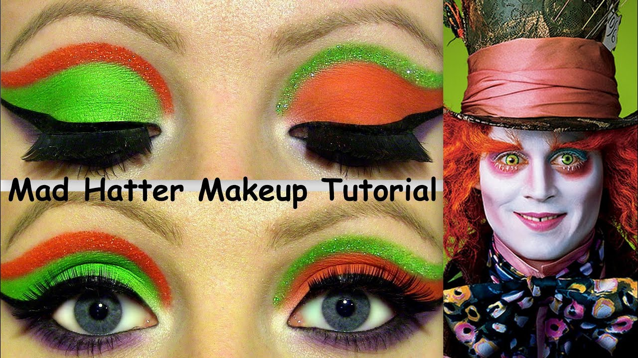 The Mad Hatter Makeup Tutorial! - YouTube