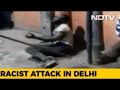 Nigerian Tied To Post, Thrashed By Mob In Delhi, Nobody Help