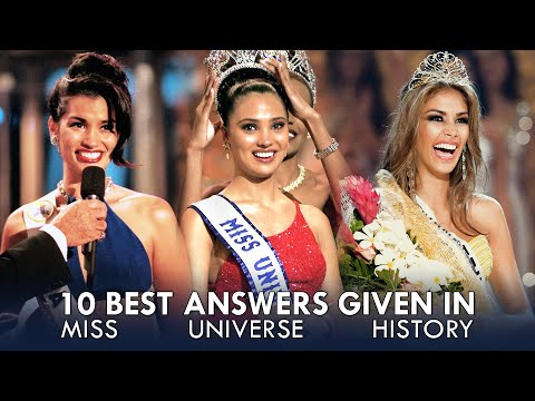 10 Best Answers in Miss Universe History