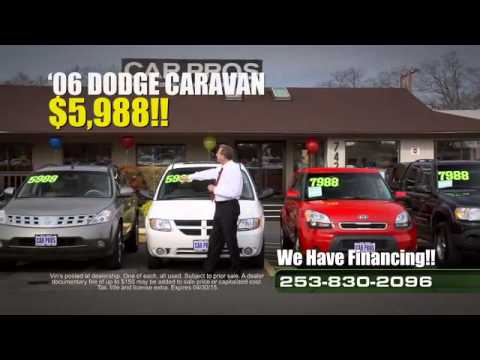 Car Pros Tacoma >> Car Pros Tacoma Used Car Sales On Lot Youtube