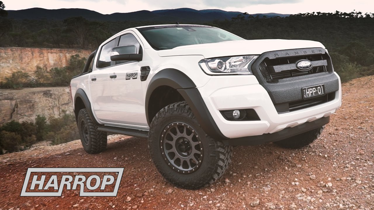 Truck Off Road 4x4 >> Ford Ranger PX2 by Harrop 4x4 Centre - YouTube