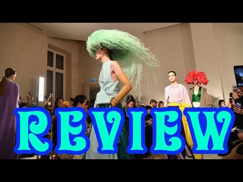 Maison Valentino Haute Couture Spring 2018 Review