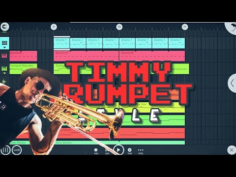 Timmy Trumpet Style In FL STUDIO MOBILE