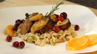 Pork Tenderloin With Clementine Cranberry Sauce