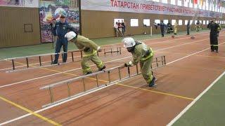 Лучшие пожарные республики демонстрировали свое профессиональное мастерство