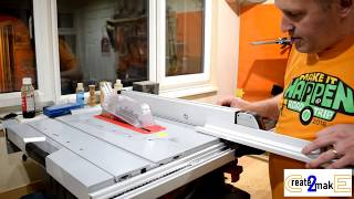 #51 Bosch GTS10XC Tablesaw unboxing, Setting up, and review
