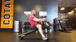 Navigating the Decline Bench With Dumbbells