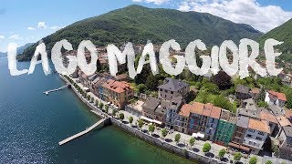 LAGO MAGGIORE, Italy & Val Verzasca, Switzerland | 4K Aerial Drone View by thedronebook