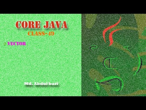 core-java--bangla-tutorial(vector)--class-49