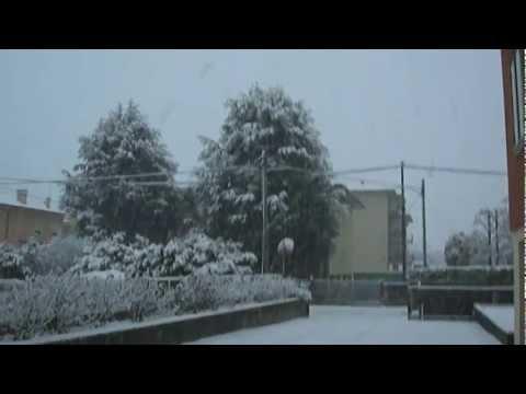 Neve a Vicenza - 21/02/2013 - HD