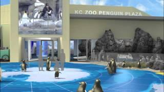 Kansas City Zoo's Penguin Plaza