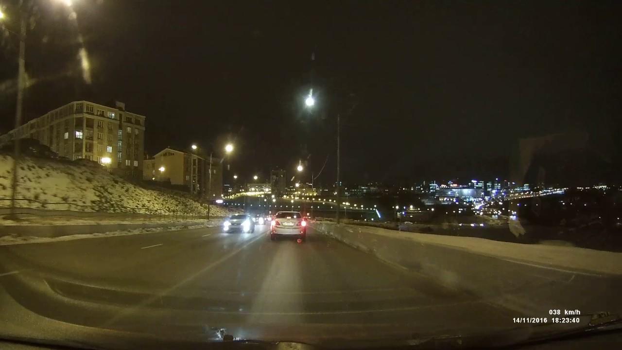 QStar LE7: тест ночью - YouTube