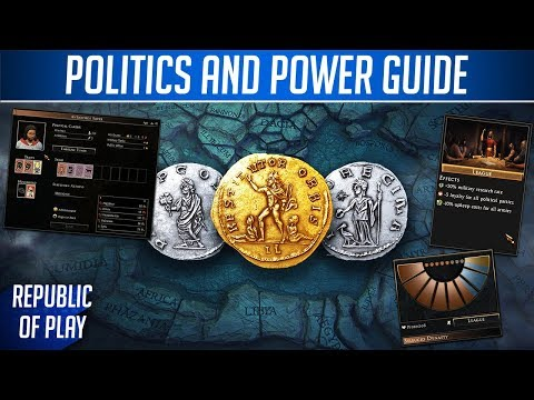 POWER AND POLITICS - Rome 2 Guide - Civil Wars Explained