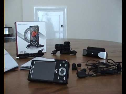 Sony Ericson W995 Inside Look & UnBoxing