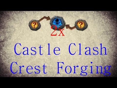 Castle Clash [Crest Forging + 2 Psyshield Crests]
