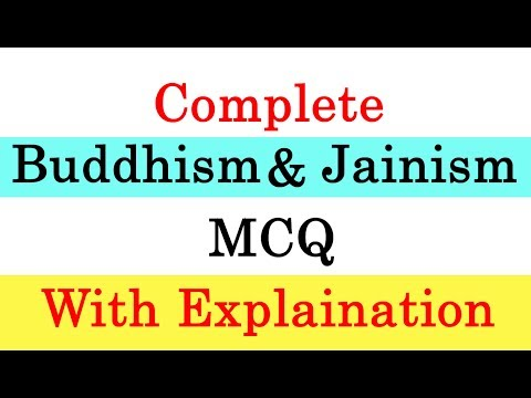 Complete Buddhism and Jainism MCQ with Explaination