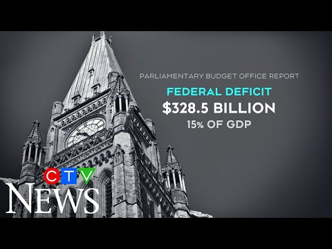 COVID-19 programs have caused Canada's deficit to skyrocket