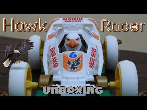 Tamiya Mini 4WD Hawk Racer  Unboxing Indonesia