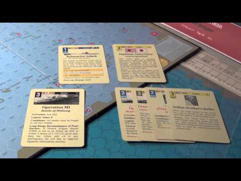 Empire of the Sun Wargame Opening Hand Analysis