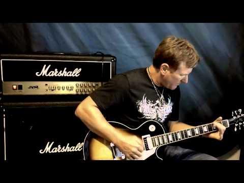 Glenn DeLaune - Boss GT-10 - 4 Cable Method Demo with the Marshall JVM 205H