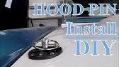 VFN Fiberglass 94-98 Cobra hood installed - YouTube