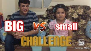 BIG vs small Food Challenge #FunVideo #FamilyFun