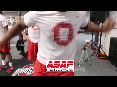 Ohio State Buckeyes Football Training: DOT DRILL