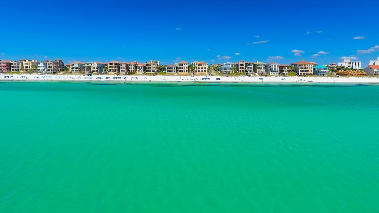 Beaches of South Walton | Scenic Highway 30A Florida - YouTube