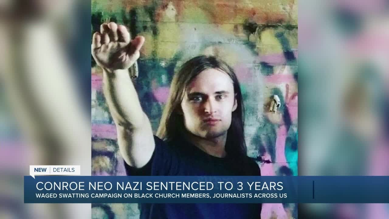 Download Conroe man tied to neo-Nazi group, sentenced to 41 months in federal prison