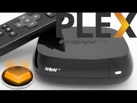 Install Plex on Now TV