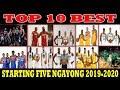 TOP 10 BEST STARTING FIVE ngayong 2019-2020 NBA SEASON | INILABAS NA
