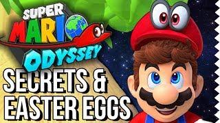 Super Mario Odyssey Easter Eggs & Secrets! The Easter Egg Hunter