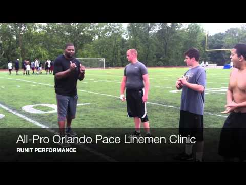 Orlando Pace Linemen Clinic