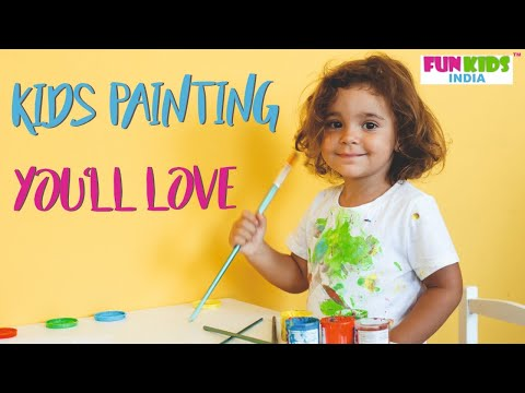 Creativity with Sunshine Painting | FunKidsIndia