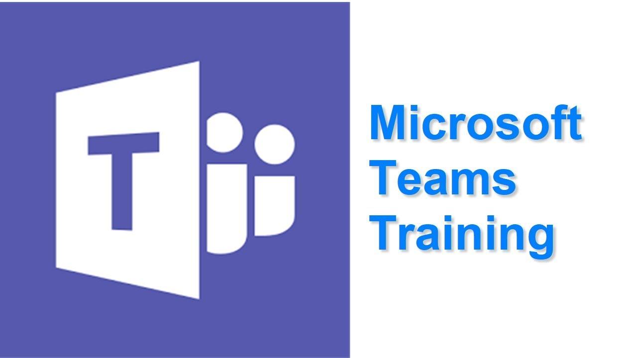 Microsoft teams training - YouTube