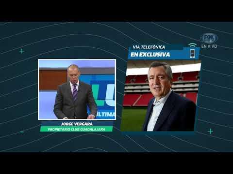 LUP: Jorge Vergara en EXCLUSIVA sobre Oswaldo Alanís