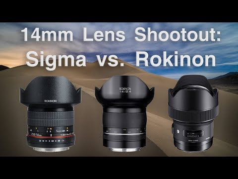 The Best Lens for Star Photos | Sigma 14mm f/1.8 Art vs. Samyang 14mm f/2.4 & f/2.8 (aka Rokinon)