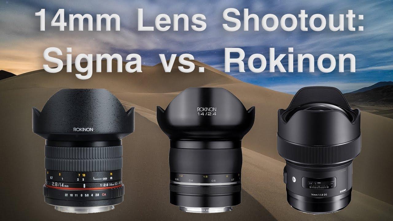 The Best Lens for Star Photos | Sigma 14mm f/1 8 Art vs  Samyang 14mm f/2 4  & f/2 8 (aka Rokinon)