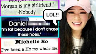 REACTING TO THE FUNNIEST SENIOR QUOTES!!