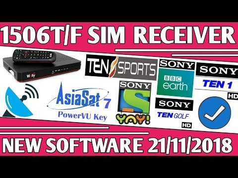 Good News 1506T/F SIM Receiver New Software Sony Network OK Must Watch ||  by Usama Tech